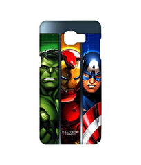 Avengers Ironman Hulk and Captain America Assemble Avengers Angst Sublime Case for Samsung A9 Pro
