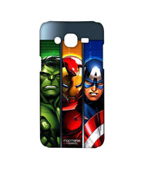 Avengers Ironman Hulk and Captain America Assemble Avengers Angst Sublime Case for Samsung On7