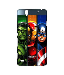 Avengers Ironman Hulk and Captain America Assemble Avengers Angst Sublime Case for Sony Xperia C4