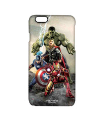 Avengers Ironman Hulk Captain America and Thor Age of Ultron Time to Avenge Pro Case for iPhone 6S