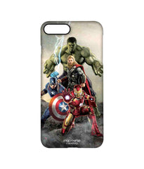 Avengers Ironman Hulk Captain America and Thor Age of Ultron Time to Avenge Pro Case for iPhone 7 Plus