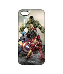 Avengers Ironman Hulk Captain America and Thor Age of Ultron Time to Avenge Pro Case for iPhone SE