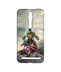 Avengers Ironman Hulk Captain America and Thor Age of Ultron Time to Avenge Sublime Case for Asus Zenfone 2