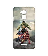 Avengers Ironman Hulk Captain America and Thor Age of Ultron Time to Avenge Sublime Case for Coolpad Note 3