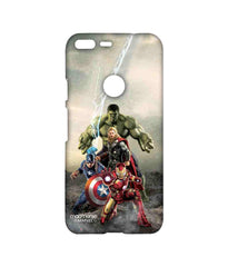 Avengers Ironman Hulk Captain America and Thor Age of Ultron Time to Avenge Sublime Case for Google Pixel