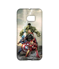 Avengers Ironman Hulk Captain America and Thor Age of Ultron Time to Avenge Sublime Case for HTC 10