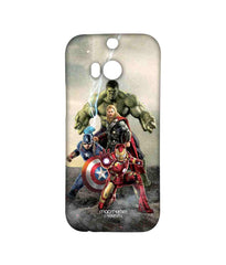 Avengers Ironman Hulk Captain America and Thor Age of Ultron Time to Avenge Sublime Case for HTC One M8