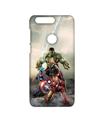 Avengers Ironman Hulk Captain America and Thor Age of Ultron Time to Avenge Sublime Case for Huawei Honor 8