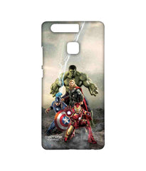 Avengers Ironman Hulk Captain America and Thor Age of Ultron Time to Avenge Sublime Case for Huawei P9