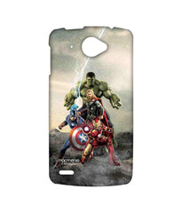 Avengers Ironman Hulk Captain America and Thor Age of Ultron Time to Avenge Sublime Case for Lenovo S920