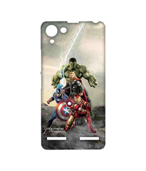 Avengers Ironman Hulk Captain America and Thor Age of Ultron Time to Avenge Sublime Case for Lenovo Vibe K5