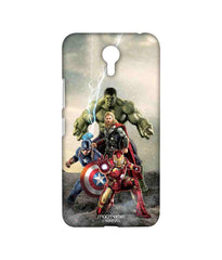 Avengers Ironman Hulk Captain America and Thor Age of Ultron Time to Avenge Sublime Case for Lenovo Zuk Z1