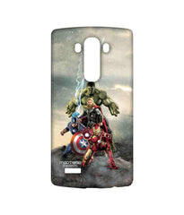 Avengers Ironman Hulk Captain America and Thor Age of Ultron Time to Avenge Sublime Case for LG G4