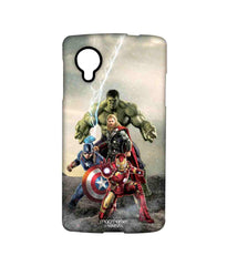 Avengers Ironman Hulk Captain America and Thor Age of Ultron Time to Avenge Sublime Case for LG Nexus 5