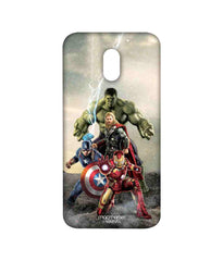 Avengers Ironman Hulk Captain America and Thor Age of Ultron Time to Avenge Sublime Case for Moto E3 Power