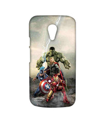 Avengers Ironman Hulk Captain America and Thor Age of Ultron Time to Avenge Sublime Case for Moto G2