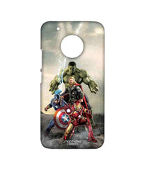Avengers Ironman Hulk Captain America and Thor Age of Ultron Time to Avenge Sublime Case for Moto G5 Plus