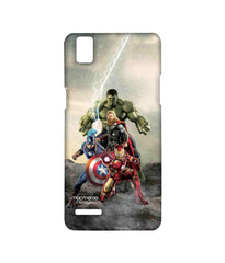 Avengers Ironman Hulk Captain America and Thor Age of Ultron Time to Avenge Sublime Case for Oppo F1