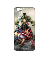 Avengers Ironman Hulk Captain America and Thor Age of Ultron Time to Avenge Sublime Case for Oppo F1s