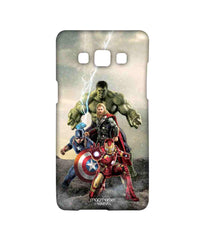 Avengers Ironman Hulk Captain America and Thor Age of Ultron Time to Avenge Sublime Case for Samsung A5
