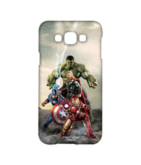 Avengers Ironman Hulk Captain America and Thor Age of Ultron Time to Avenge Sublime Case for Samsung A8