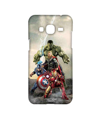 Avengers Ironman Hulk Captain America and Thor Age of Ultron Time to Avenge Sublime Case for Samsung J3 (2016)