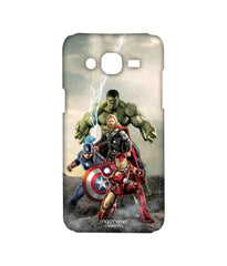 Avengers Ironman Hulk Captain America and Thor Age of Ultron Time to Avenge Sublime Case for Samsung J5