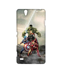 Avengers Ironman Hulk Captain America and Thor Age of Ultron Time to Avenge Sublime Case for Sony Xperia C4