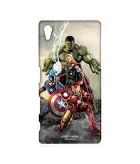 Avengers Ironman Hulk Captain America and Thor Age of Ultron Time to Avenge Sublime Case for Sony Xperia Z5