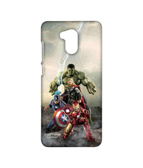 Avengers Ironman Hulk Captain America and Thor Age of Ultron Time to Avenge Sublime Case for Xiaomi Redmi 4 Prime