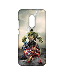 Avengers Ironman Hulk Captain America and Thor Age of Ultron Time to Avenge Sublime Case for Xiaomi Redmi Note 4