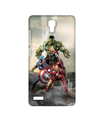 Avengers Ironman Hulk Captain America and Thor Age of Ultron Time to Avenge Sublime Case for Xiaomi Redmi Note 4G