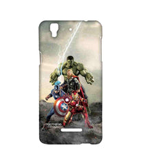 Avengers Ironman Hulk Captain America and Thor Age of Ultron Time to Avenge Sublime Case for YU Yureka Plus