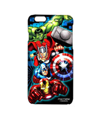 Avengers Ironman Hulk Captain America and Thor Assemble Avengers Fury Pro Case for iPhone 6S