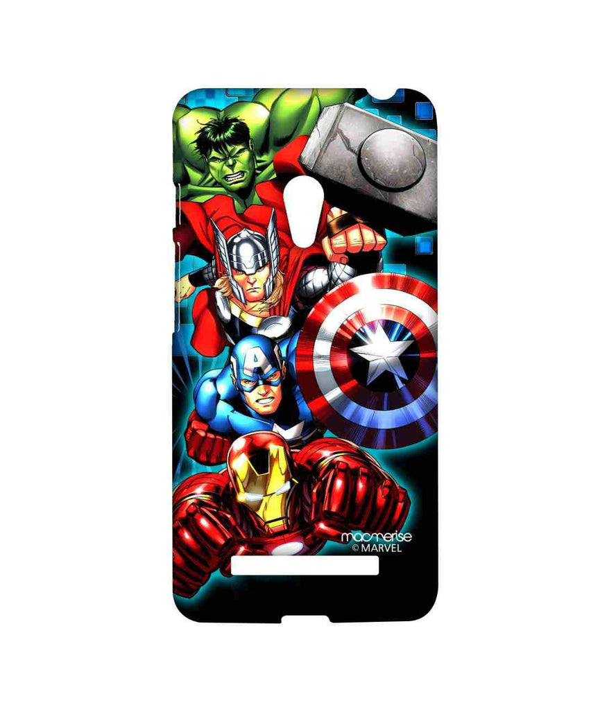 Avengers Ironman Hulk Captain America and Thor Assemble Avengers Fury Sublime Case for Asus Zenfone 5