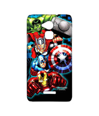 Avengers Ironman Hulk Captain America and Thor Assemble Avengers Fury Sublime Case for Coolpad Note 3