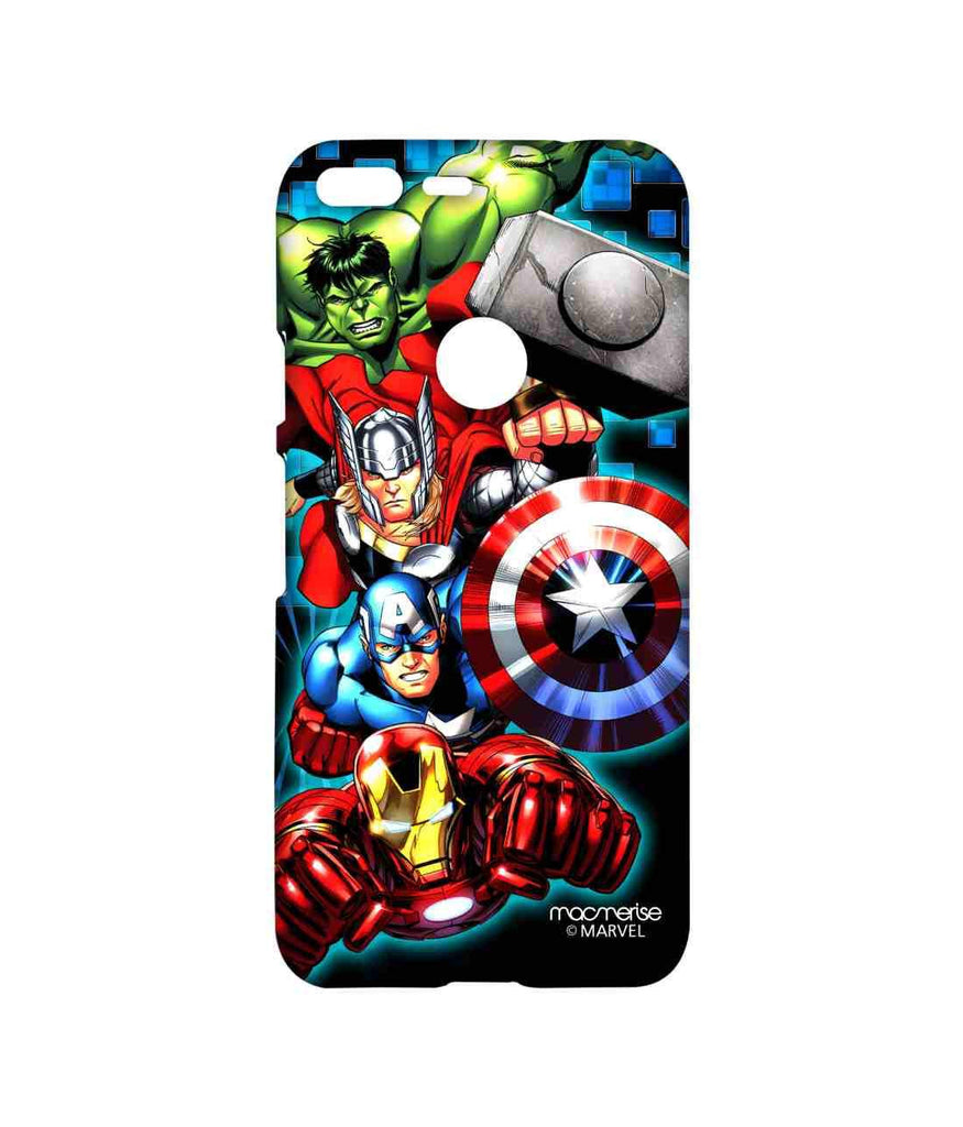 Avengers Ironman Hulk Captain America and Thor Assemble Avengers Fury Sublime Case for Google Pixel XL