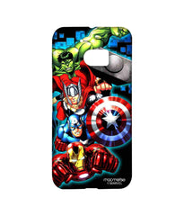 Avengers Ironman Hulk Captain America and Thor Assemble Avengers Fury Sublime Case for HTC 10