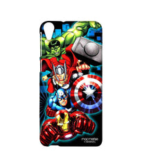 Avengers Ironman Hulk Captain America and Thor Assemble Avengers Fury Sublime Case for HTC Desire 820
