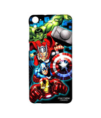 Avengers Ironman Hulk Captain America and Thor Assemble Avengers Fury Sublime Case for HTC Desire 826