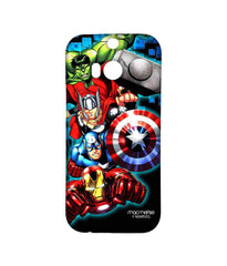 Avengers Ironman Hulk Captain America and Thor Assemble Avengers Fury Sublime Case for HTC One M8