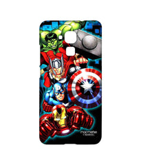 Avengers Ironman Hulk Captain America and Thor Assemble Avengers Fury Sublime Case for Huawei Honor 5C