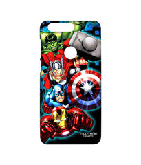 Avengers Ironman Hulk Captain America and Thor Assemble Avengers Fury Sublime Case for Huawei Honor 8