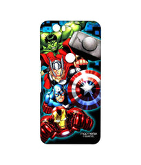 Avengers Ironman Hulk Captain America and Thor Assemble Avengers Fury Sublime Case for Huawei Nexus 6P
