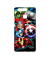 Avengers Ironman Hulk Captain America and Thor Assemble Avengers Fury Sublime Case for Huawei P9