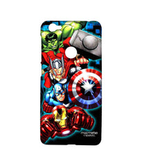 Avengers Ironman Hulk Captain America and Thor Assemble Avengers Fury Sublime Case for LeEco Le 1s