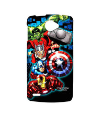 Avengers Ironman Hulk Captain America and Thor Assemble Avengers Fury Sublime Case for Lenovo S920