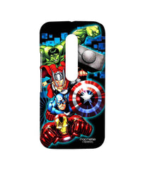 Avengers Ironman Hulk Captain America and Thor Assemble Avengers Fury Sublime Case for Moto G Turbo