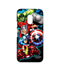Avengers Ironman Hulk Captain America and Thor Assemble Avengers Fury Sublime Case for Moto G4 Play