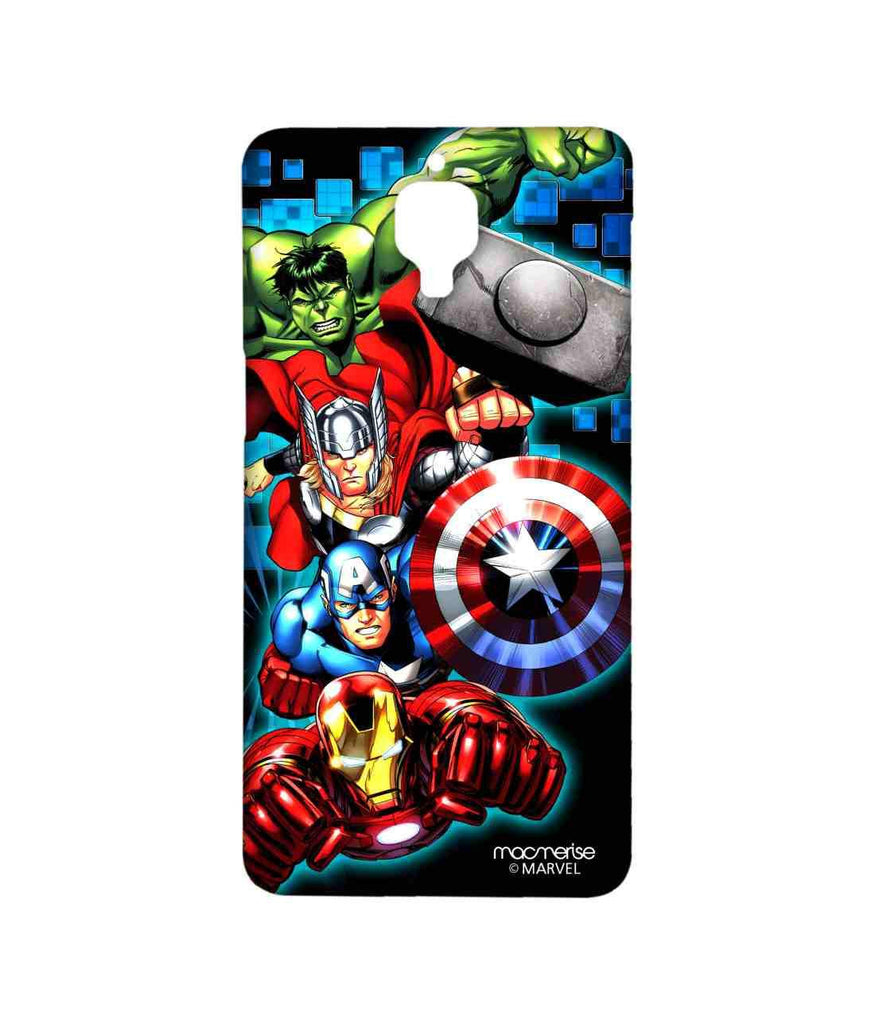 Avengers Ironman Hulk Captain America and Thor Assemble Avengers Fury Sublime Case for OnePlus 3T